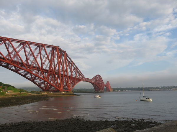 """Bridge Over The Forth"" (In a Scottish Accent) Architecture Bridge Bridge - Man Made Structure Connection Engineering Mode Of Transport Scenics Sea Tranquility Transportation Travel Destinations"