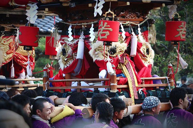 Getting Inspired Great Performance Having Fun Taking Photos Enjoying Life Japnese Japanese Festival 祭り 神輿 男衆が普段より格好良く見える日(笑)