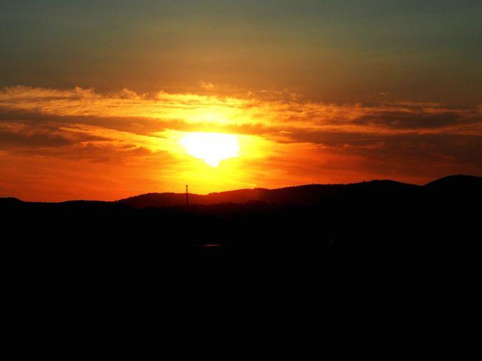Sunset Sky FlightTrack