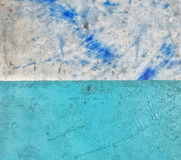 Half turquoise blue half mortar color concrete wall with dark blue painted, two tone background Urban Mortar Art Paint No People Full Frame Architecture Backgrounds Textured  Blue Colors Colorful Two Tone Half Straight Lines Dividing Line Turquoise Cement Concrete Wall Texture Old