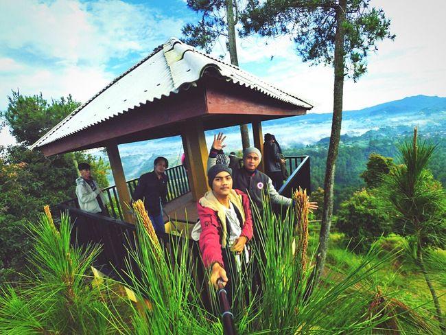 Portrait Looking At Camera Leisure Activity Lifestyles Casual Clothing Smiling Sky Nature Day Bandungjuara Bandung, West Java Bandungexplore Tebing Karaton