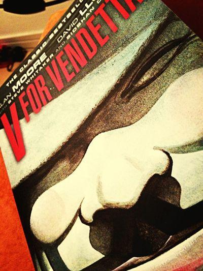 Book English V For Vendetta