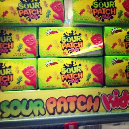 Candy!! #sour Patch Kids :-)