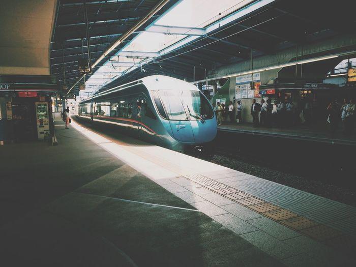 Commuting Subway Station