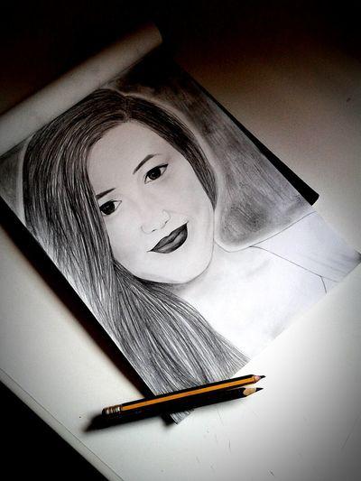 Drawing Draw Isuckatdrawing Pencil The100 Alycia Debnam Carey ??? Girl Art