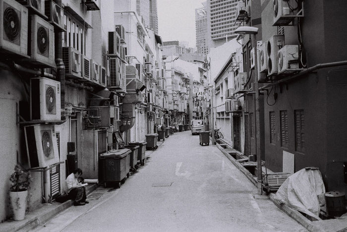 Alley Architecture Building Exterior Built Structure City City Life Day Diminishing Perspective Empty Road Long Narrow No People Outdoors Residential Building Residential District Residential Structure Street Tall - High The Way Forward Urban Adapted To The City