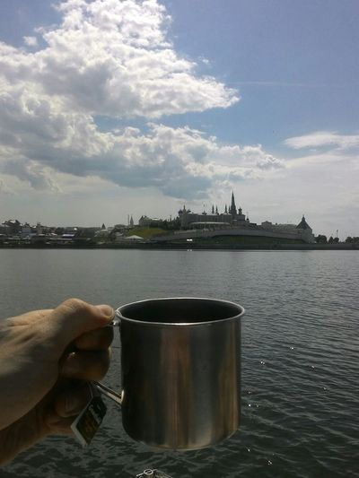 River Sky Kazan KazanKremlin Kazankariver Tea Cup