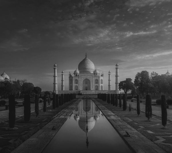 My national wonders..TAJ MAHAL Architecture Outdoors Connected By Travel