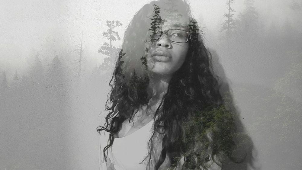 Human Face Self-love Nature