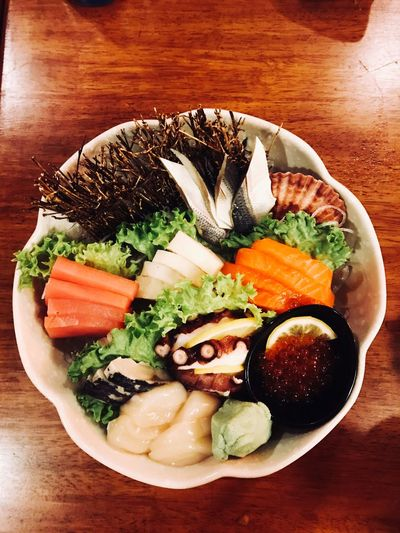 Sashimi Food Food And Drink Freshness Healthy Eating Table Wellbeing Ready-to-eat First Eyeem Photo