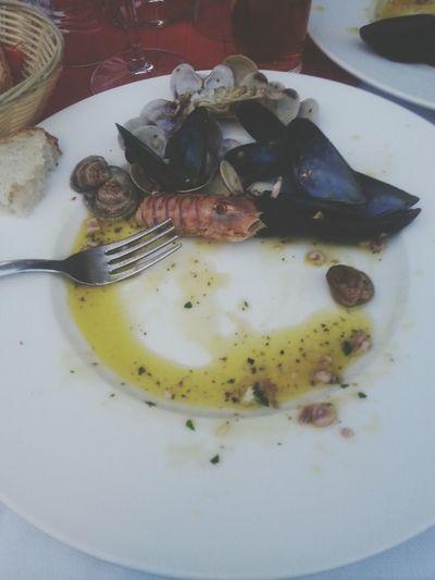 Sea Food Fish Mezzemaniche Good