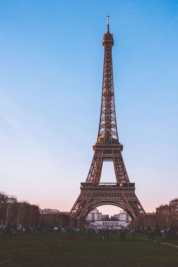 Paris at night! Architecture Sky Built Structure Travel Destinations Tourism History The Past Tall - High Tower Travel City Architectural Feature Nature Metal Low Angle View Day Plant Building Exterior Arch No People Outdoors Iron - Metal Spire  Eiffel Tower