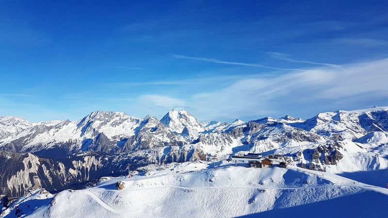 EyeEm Selects Winter Mountain Cold Temperature Landscape Ski Courchevel  Courchevel In Photos