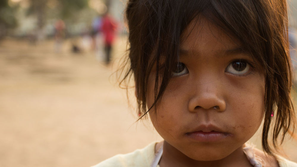 Cambodia Children Ankorwat Childhood Close-up Human Face Khmer Real People Tombraider
