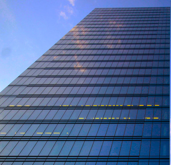 Architecture Blue Brussels Skylines Bt=russel Building Exterior Built Structure City Life Cloud Cloud - Sky Day Façade Full Frame Glass - Material Low Angle View Modern No People Office Block Office Building Outdoors Reflection Repetition Sky Skyscraper Tall - High Urban Skyline