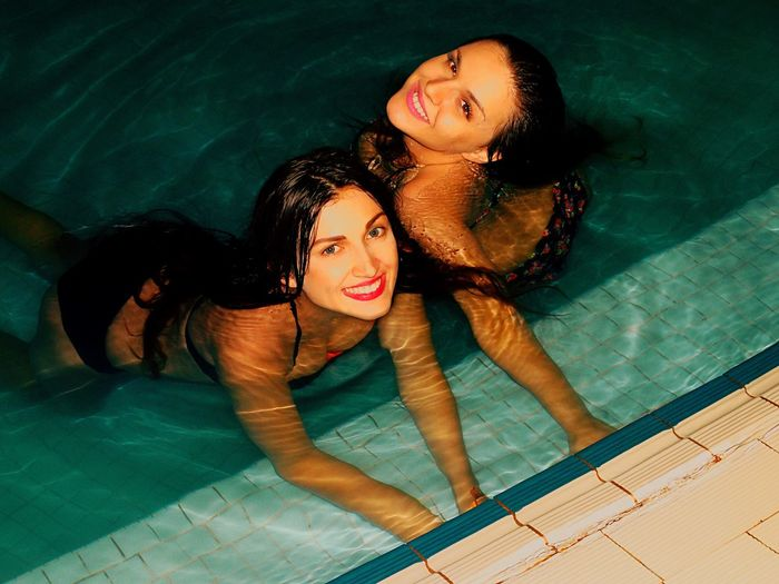 Me and my beautiful sister 😽😽😽💗💗💗 Swimming Pool Night Sisters ❤ ASIA Malaysia Borneo Sabah Beautiful Today's Hot Look Summer Trip Holiday Enjoying Life Taking Photos Relaxing Hi! Cheese! Hello World Hanging Out That's Me Check This Out