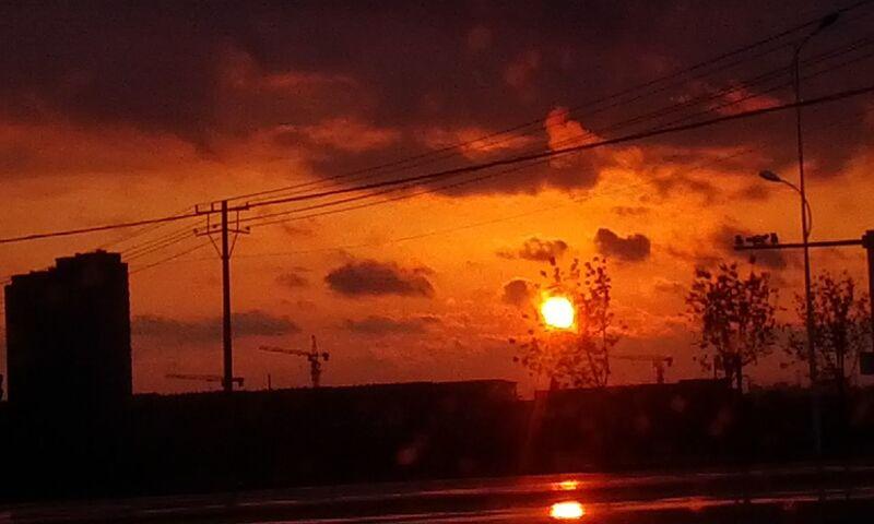 sunset 日落西山