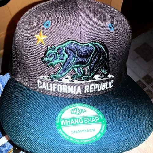 New lid. Californiarepublic Green Snapbacks Steezymf