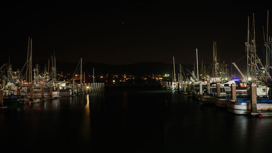 Ships Boats⛵️ Harbor Harbour Dock Water Nautical Vessel Illuminated Night Reflection Moored Sailboat Mast Waterfront No People Sea Marina Port Yacht Anchored