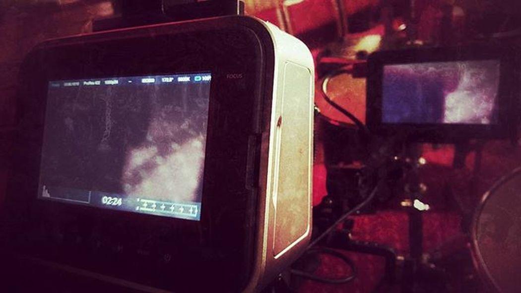 Caught on camera (Day 42 of 366) Filming BMCC Atomos Nickblak