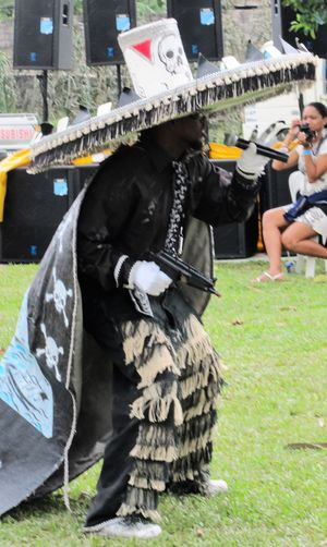 Adult Adults Only Carnival City Day Lifestyles Outdoors OutLaw People Real People Traditional Clothing Travel Destinations Trinidad And Tobago