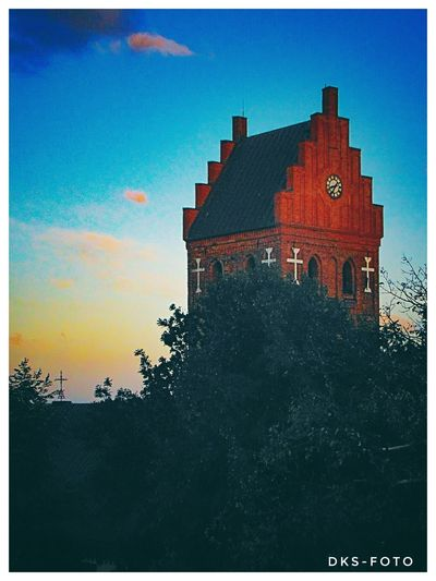 Sweden The True Story Church Torshälla Red Astronomy Sky Architecture Building Exterior Built Structure