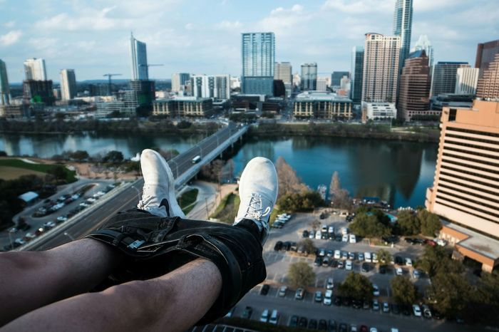 Share Your Adventure Rooftop Nike Cityscapes A Day In The Life Rooftopping Cityscape Humor Networking Snapshots Of Life Out Of The Box