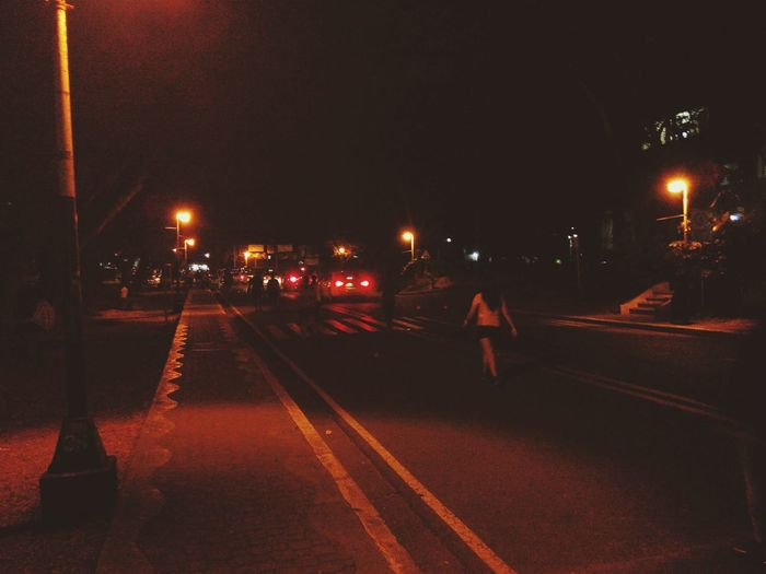 Rest after two rounds. Night Photography Fitness Night Lights On The Road Lines & Curves Benitezhall Updiliman Quezoncity