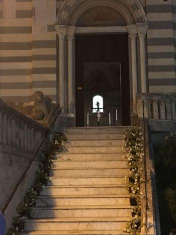 Church Steps Cross Italy
