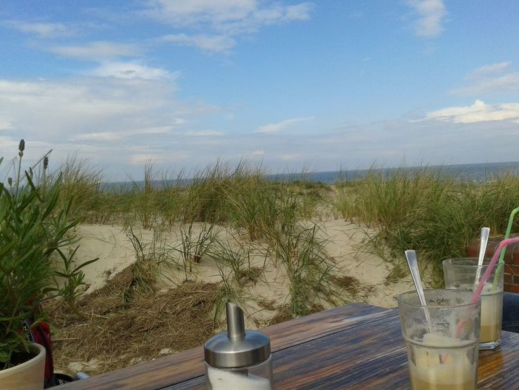 Snapshots Of Life; Drinking a Latte Macchiato with my parents in the Sun. Beautiful view ☕🌊🌞