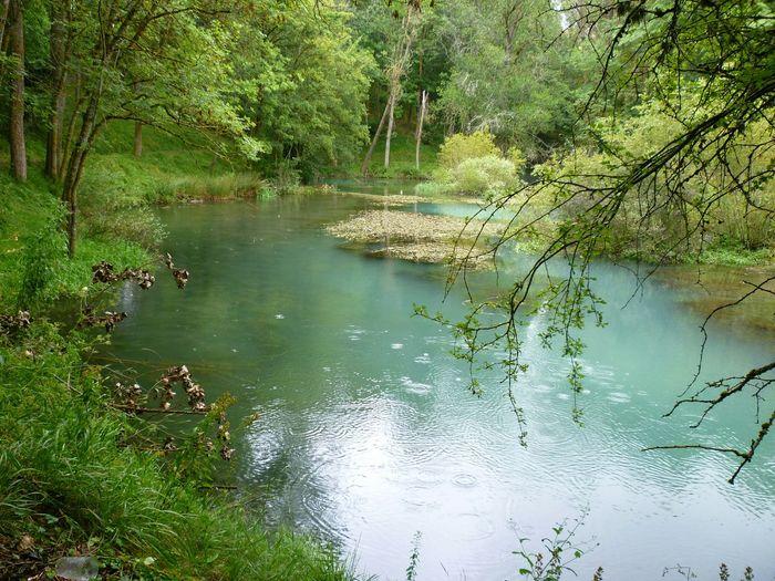 El Rio Ebro asu paso por Fontibre