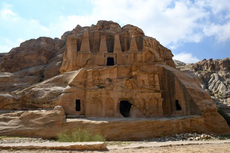 Jordan Petra Ancient Ancient Civilization Architecture Beauty In Nature No People Rock - Object Rock Formation Sky Travel Travel Destinations