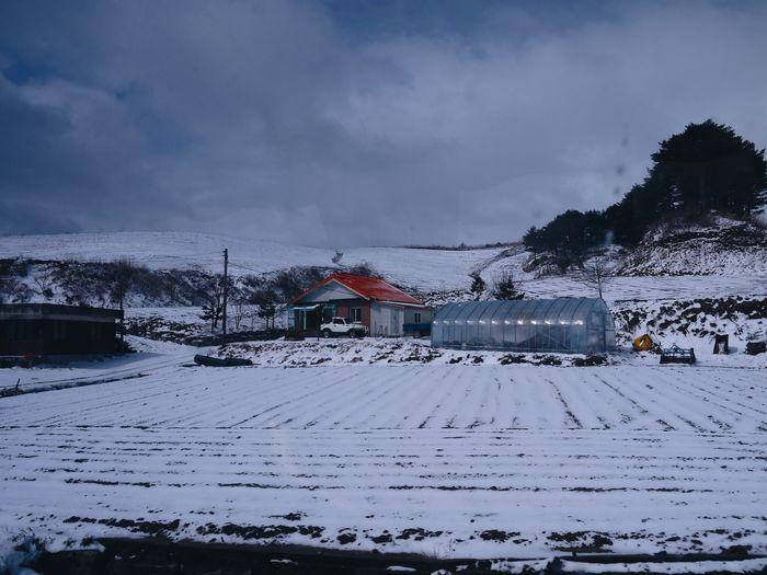 Snow Cold Temperature Winter Built Structure Sky Architecture Cloud - Sky