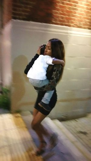 Your avarage super mum Singlemother Choice That's Me Independent Woman Blackgirl Photoshoot
