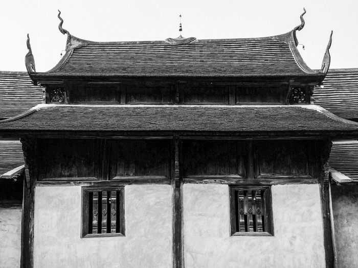 Traditional asian building