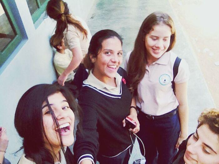School Girls Smile