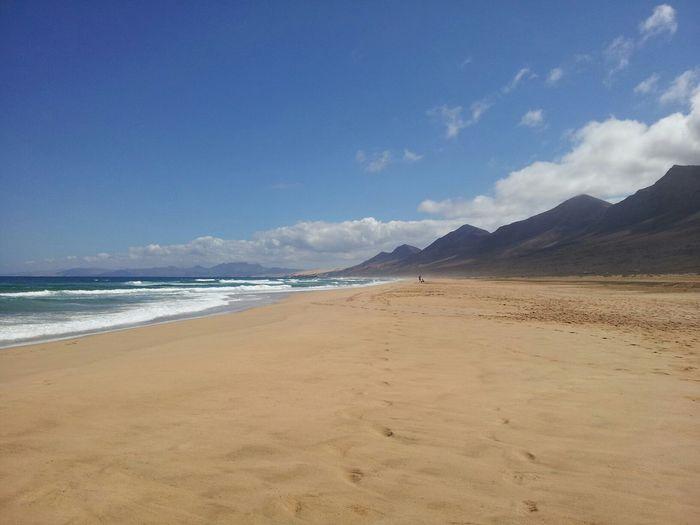 Playa de Cofete (Fuerteventura, Spain) Landscape Sea Beach Fuerteventura