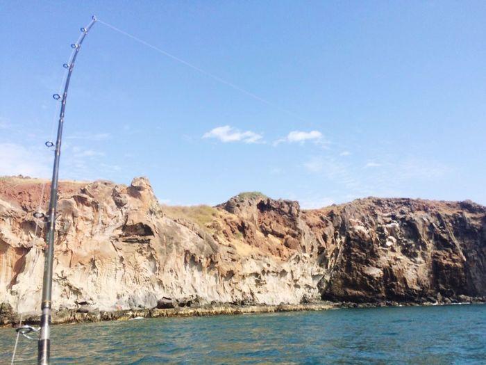 EyeEm Selects Rock - Object Water Sea Sky Nature Blue No People Fishing Senegal Dakar #FREIHEITBERLIN
