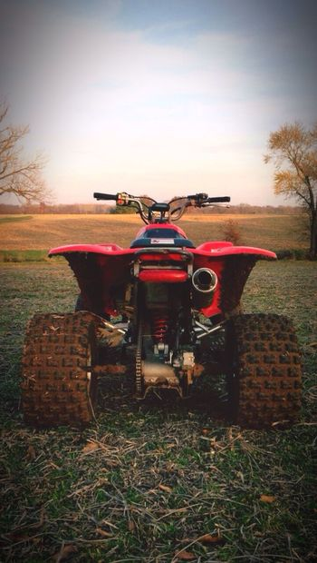 Honda 400 Field Riding RideToLive Agriculture First Eyeem Photo