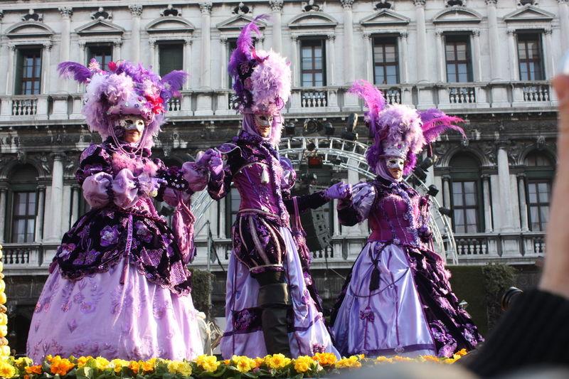 Blackvelvet Masks Eleganza Carnevale Di Venezia Piazzasanmarco Venice, Italy Dress Venezia Mask Colors Festival People Purple Italia