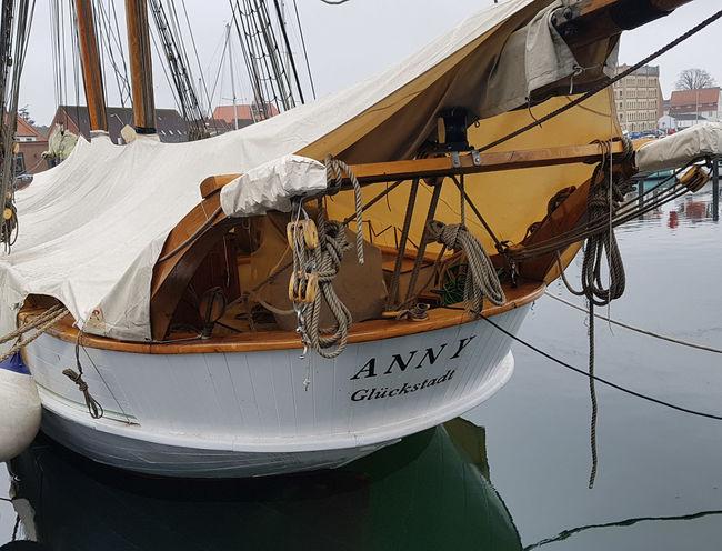 Segelschiff Meer Eckernförde Harbour Eckernförde Boote Wasser Segelschiff Schiff Altes Boot Anny Holz Boot