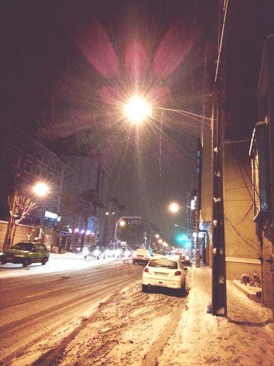 برف Snow City Tehran