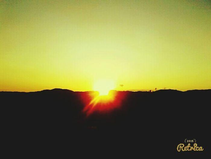 por do sol lindo