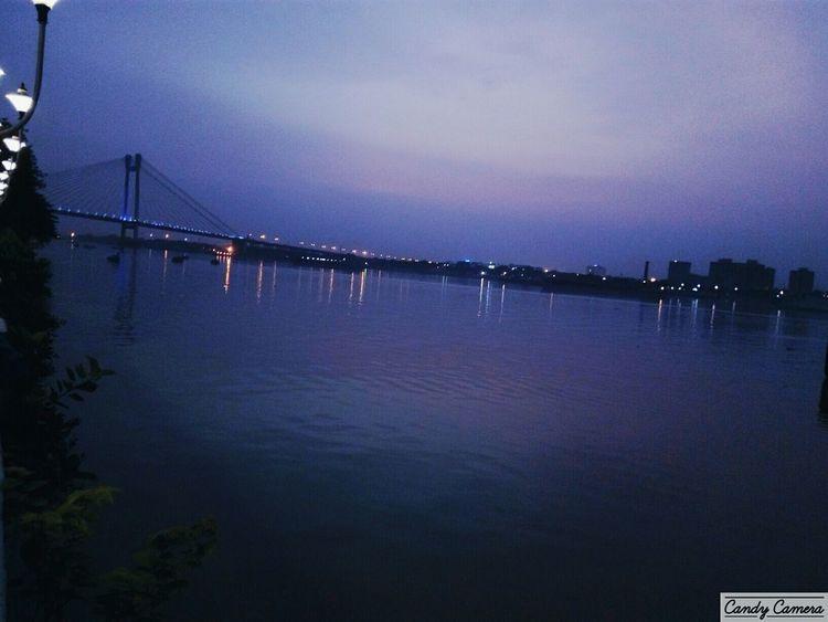 Bank of Ganges,evening,Howrah bridge, Relaxing Walking Around First Eyeem Photo