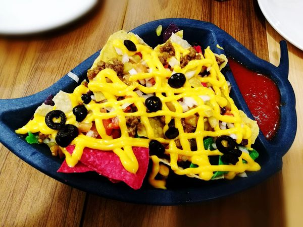 Food Nachos Nachoswithcheese Colorful Multi Colored Ready-to-eat Food Stories