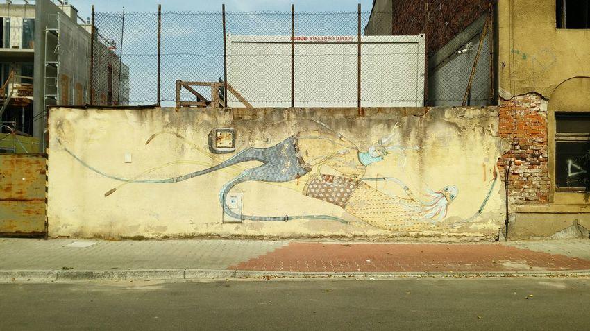 Streetphotography City Graffiti Street Art Spray Paint Mural