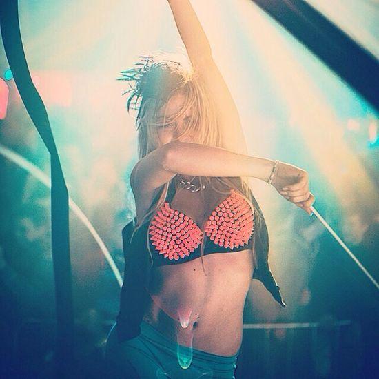 Model Eye4photography  EyeEm Best Shots Girl beautiful girl dancing in an austrian club...