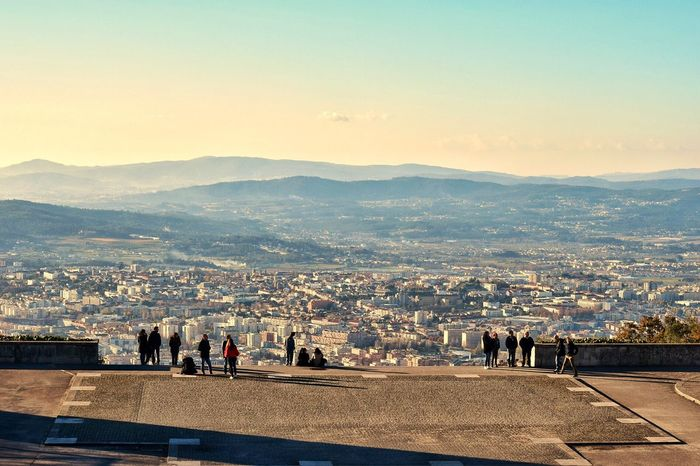 Braga Portugal Mypointofview Nature Cityview View From The Top Nikon Mountain Sky Sun Landscape Travel Destinations Clear Sky Discovering Places Explore Traveler Neverstopexploring  EyeEmNewHere Justgoshoot Trip Outdoors Amazingplace Beautiful Day Photographer Sameiro Braga