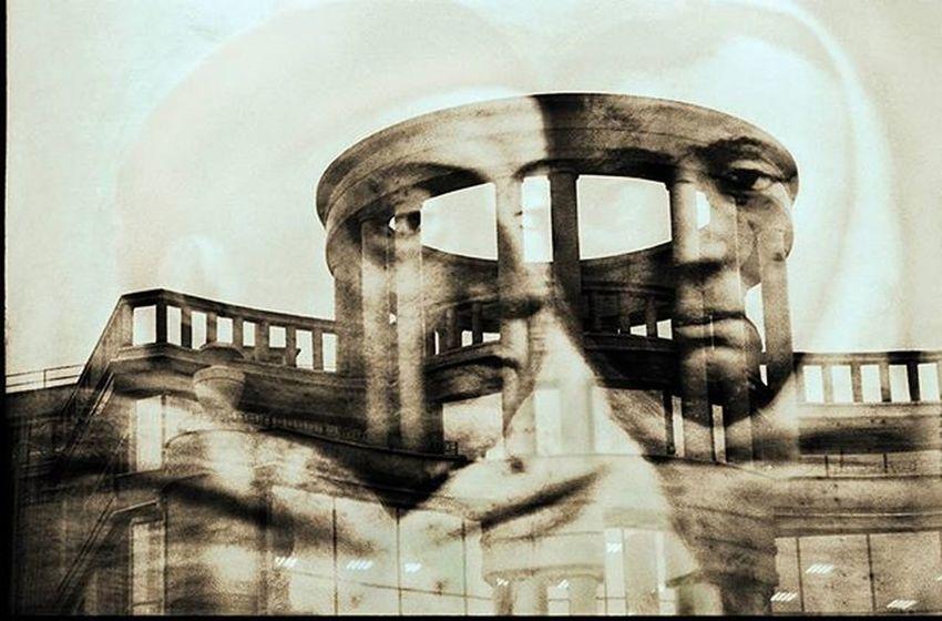 Spb Spb_live Sepia Selfpotrait Instaart Art Artist 35mm Film Filmphotography Filmfoto Olga_genievskaya ОльгаГениевска Multiexposure  Multiexposition
