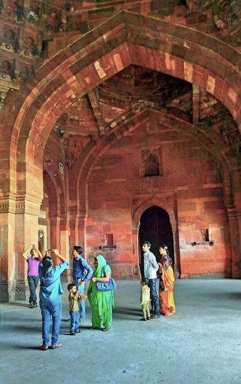 Arch Architecture Travel Destinations People Indoors  Multi Colored Abstract Indiapictures Indianphotographer Photosfromindia EyeEm Vision Mobilephoto Worldwide_shot Magazine Publish Colors India Visionphotography Architecture Forts Of India Fort The Architect - 2017 EyeEm Awards HDR